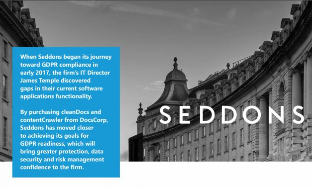 Seddons' journey to GDPR compliance uncovered gaps in software functionality