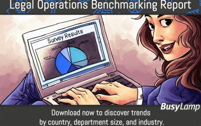Legal operations benchmarking report