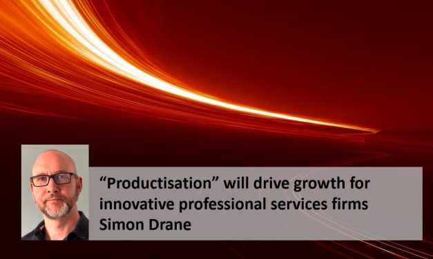 """Productisation"" will drive growth for innovative professional services firms"