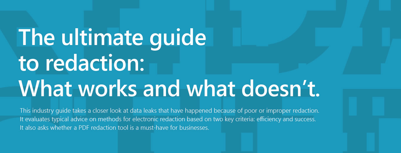 WP PD Guide to Redaction 2019