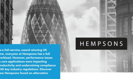 How confidence was restored in core applications at UK  firm Hempsons