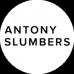 logo circle antony slumbers