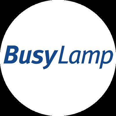 logo circle busylamp