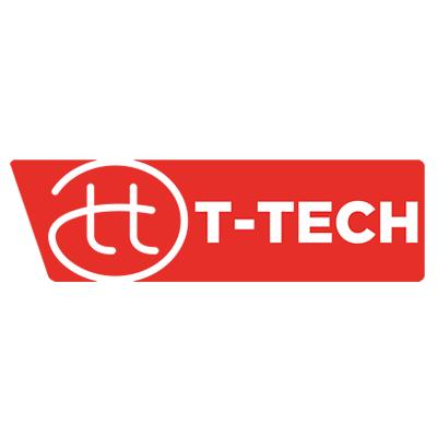 logo circle t tech