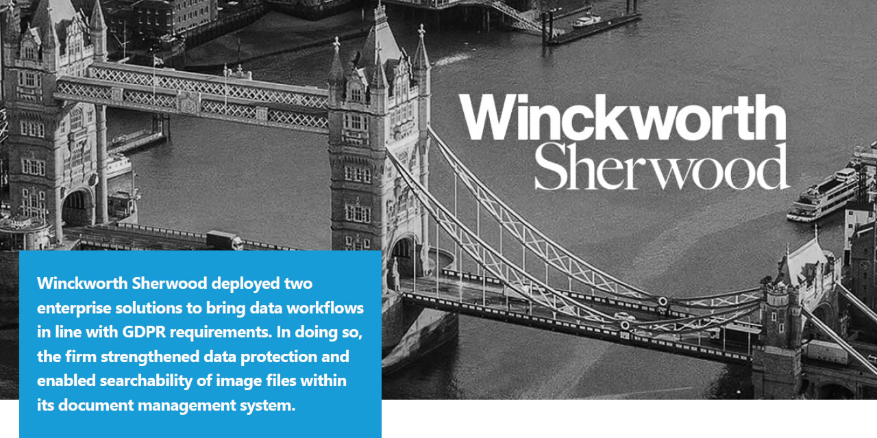 How Winckworth Sherwood strengthened data protection for GDPR compliance