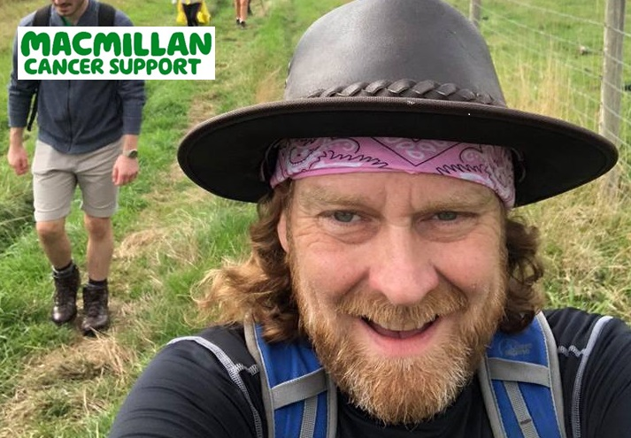 Martyn Wells taking on Britain's toughest walk to raise £100K for Macmillan