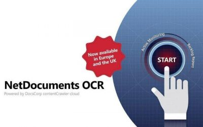 Netdocuments OCR EMEA poic