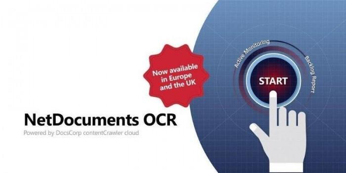 Netdocuments OCR EMEA poic