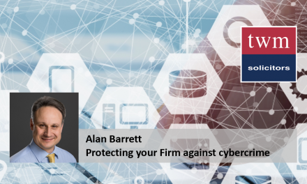 Protecting your Firm against cybercrime