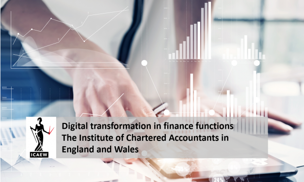 Digital transformation in finance functions