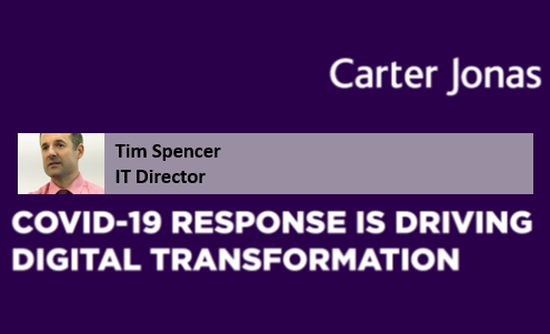 Covid-19 response is driving digital transformation