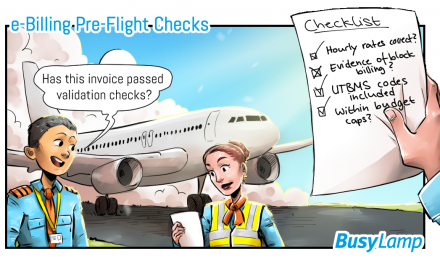 e-billing operating procedures (pre-flight checks for law firms)