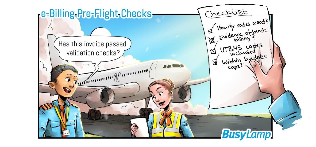 e-billing operating procedures (pre-flight checks for law firms)