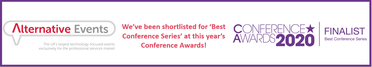 We've been shortlisted for Best Conference Series at this year's Conference Awards!
