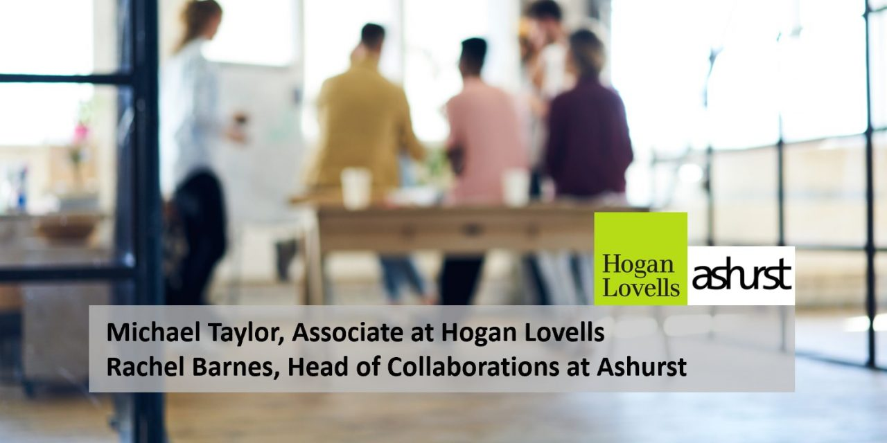 Michael Taylor, Associate at Hogan Lovells & Rachel Barnes, Head of Collaborations at Ashurst