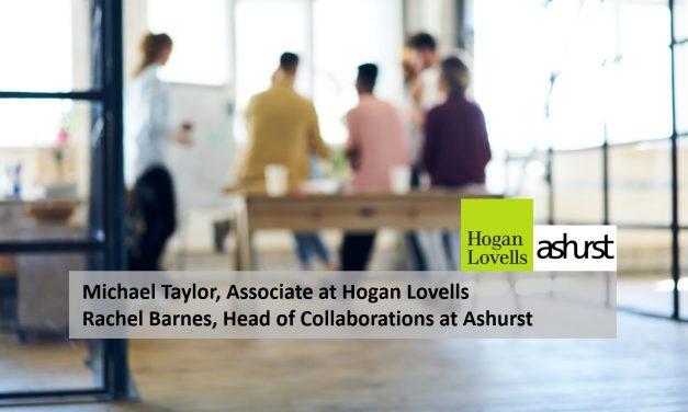 Michael Taylor, Associate at Hogan Lovells & Rachel Barnes, Head of Collaborations at Ashurst