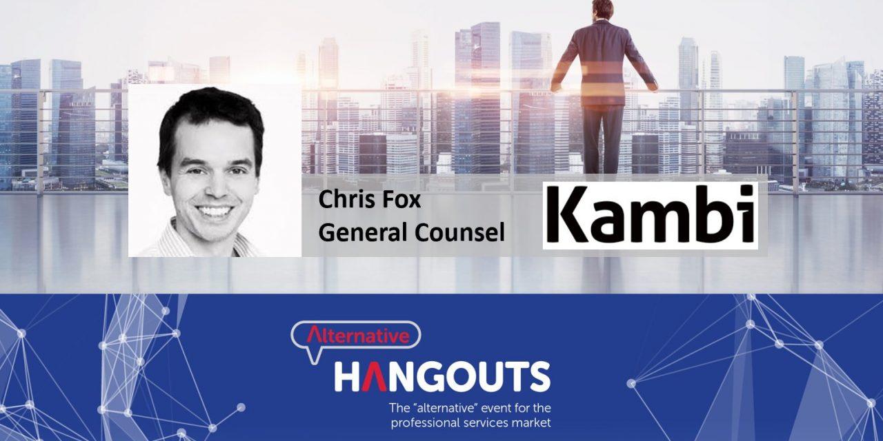 Alternative Takeaways with Chris Fox, General Counsel at Kambi