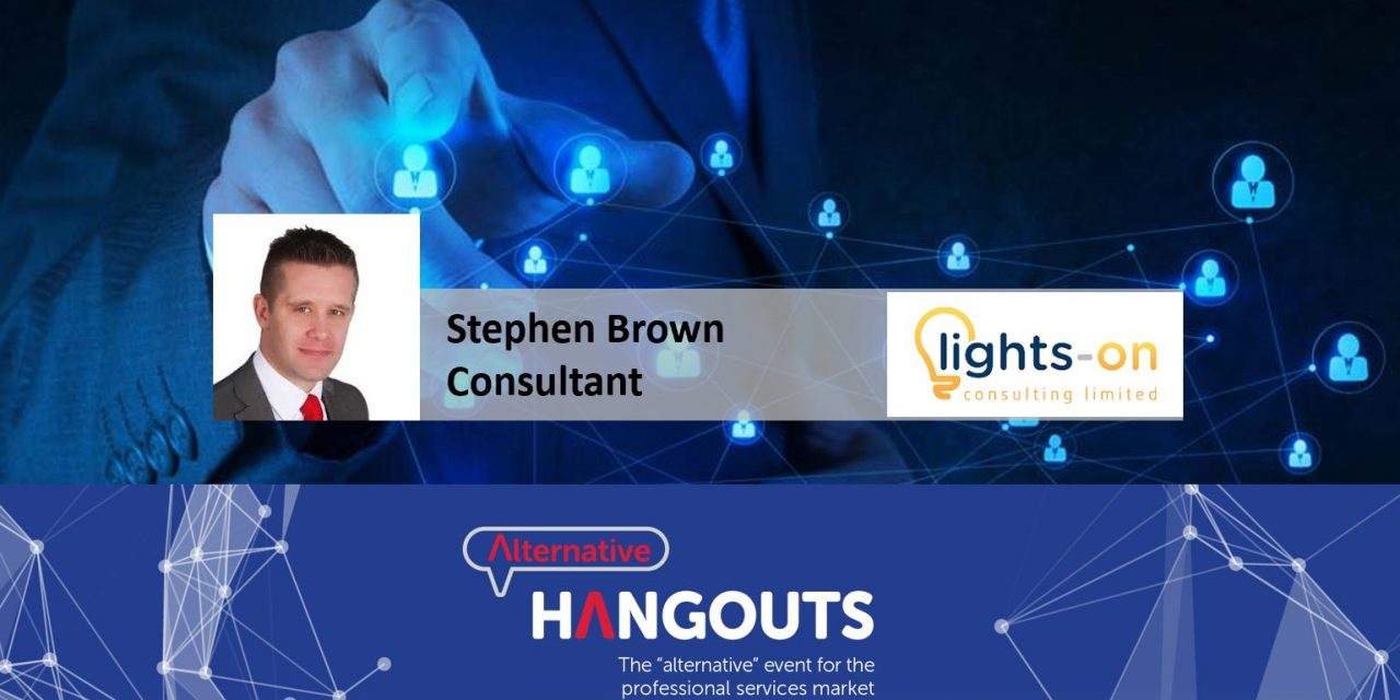 Alternative Takeaways with Stephen Brown, Consultant at Lights-on Consulting