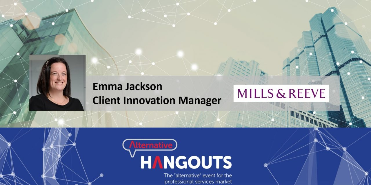 Alternative Takeaways with Emma Jackson, Client Innovation Manager at Mills & Reeve