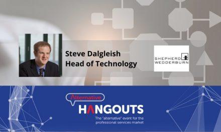 Alternative Takeaways with Steve Dalgleish, Head of Technology at Shepherd & Wedderburn
