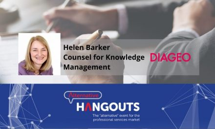 Alternative Takeaways with Helen Barker, Counsel for Knowledge Management at Diageo