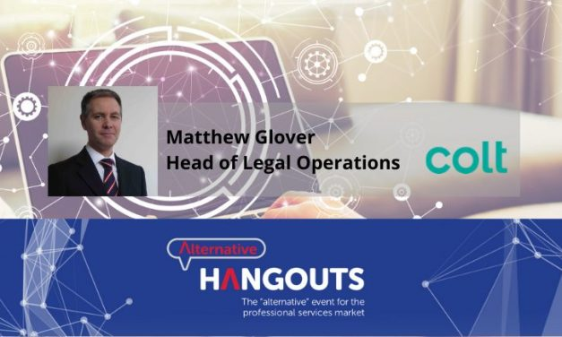 Alternative Takeaways from Matthew Glover, Head of Legal Operations at Colt Technology Services
