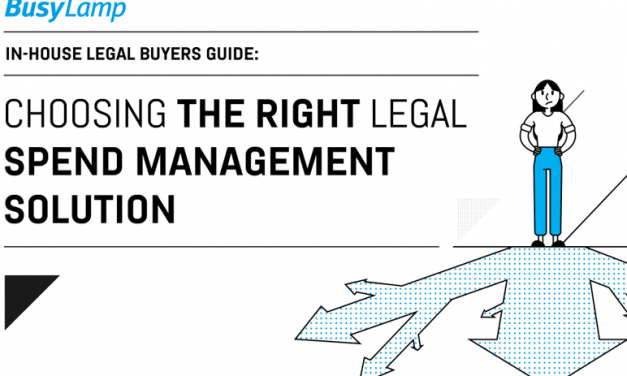 Choosing the right legal spend management solution