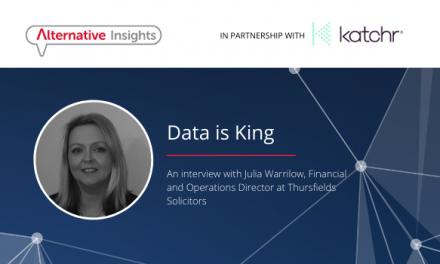 Data is King: An Interview with Julia Warrilow, Finance and Operations Director at Thursfields Solicitors