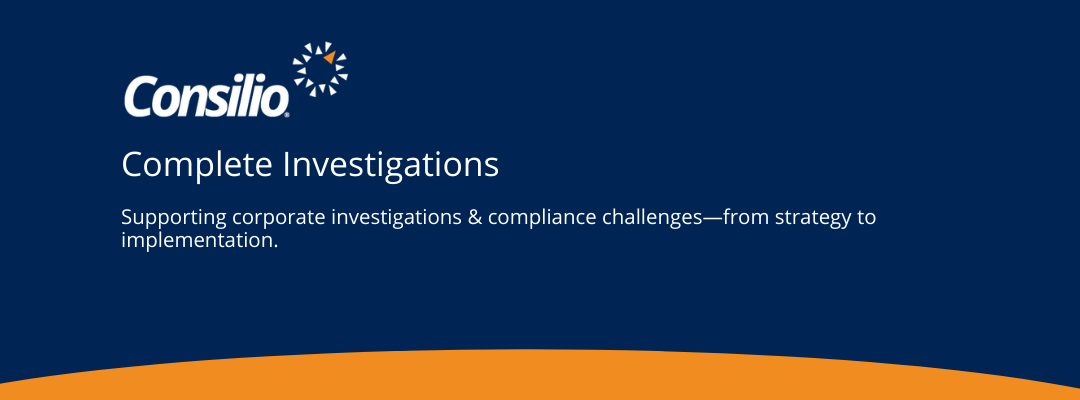 Consilio Complete Investigations – Fact Sheet