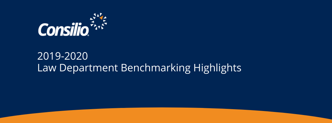 Consilio 2019-2020 Law Department Benchmarking Highlights
